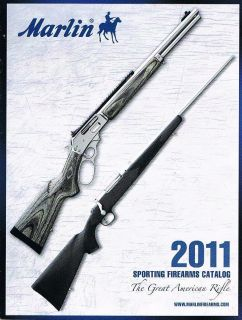 Marlin Sporting Firearms 2011 Catalog Lever Action X7 XT Auto Loading
