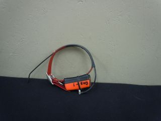 Used Garmin DC20 GPS Dog Tracking Collar Red Collar Strap