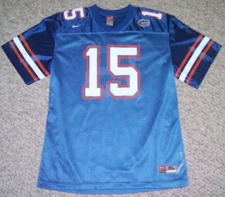 VINTAGE TIM TEBOW JETS FLORIDA GATORS COLLEGE FOOTBALL YOUTH JERSEY 15