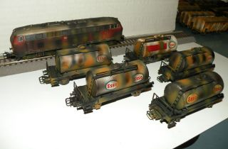 Marklin Weathered Cargo Train Set Scale HO
