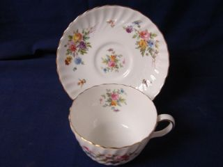 England China Dinnerware Older Mark Marlow Cup and Saucer