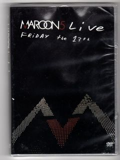 Maroon 5 Live Friday The 13th DVD Concerts New