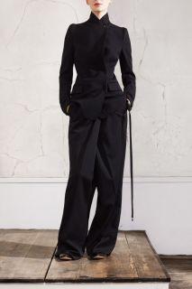 MMM Maison Martin Margiela H M Black Wool Tuxedo Tux Jacket Blazer 12