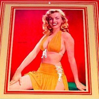 Marilyn Monroe Advertising Calendar Pinup Laszlo Willinger Minty Mint