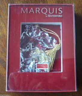 Marquis by Waterford Santa Claus Ornament 7th in Series New in Box