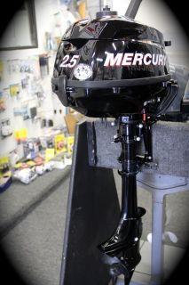 Mercury Outboard 2 5 HP Short Manual Portable 2012