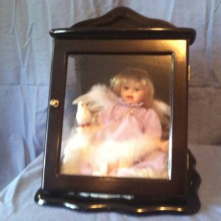 Ashley Belle Mary Ann Doll COA Cherry Wood Case