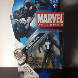 Spider Man Black Suit Marvel Universe Series 3 Action Figure