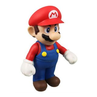 Red Nintendo Super Mario Bros Luigi Action Figure Toy Pretty Gift