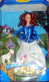 Mary Had A Little Lamb Barbie Doll NIB Nursery Rhyme Collection Series