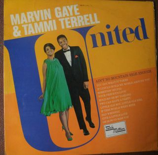 Marvin Gaye Tammi Terrell United Original UK Pressing 1967