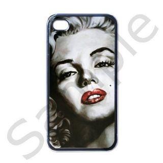 Marilyn Monroe Hot Apple iPhone 4 Case Black 2012DESIGN