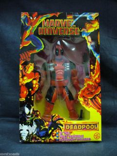 10 Marvel Universe Deadpool Figure MIB Toy Biz RARE