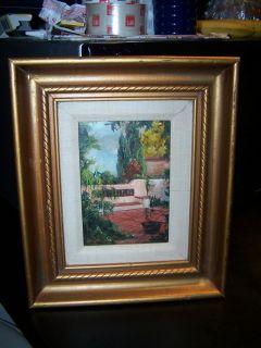 Garrett Original Oil Painting on Masonite