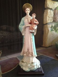 Virgin Mary of La Vang 18 Porcelain Statue