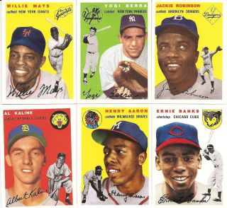 1994 Topps Archives 1954 Complete 259 Card Set w Both Williams and