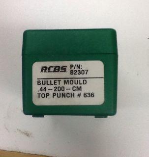RCBS 44 200 cm Cowboy Sass Bullet Mold CAS