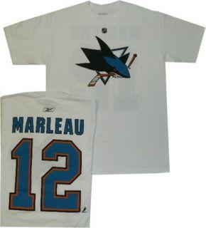 San Jose Sharks Patrick Marleau Shirt Jersey Large Wht