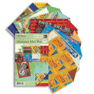 Horjus Scrapbooking Card Making Sports Mat Paper Pad 4x6 Sheets