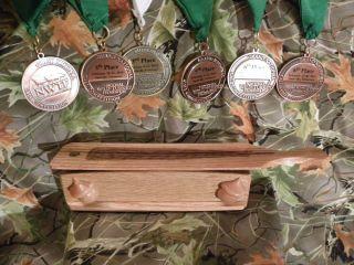 High Ridge Custom Calls Short Box Red Oak Wood Turkey Call