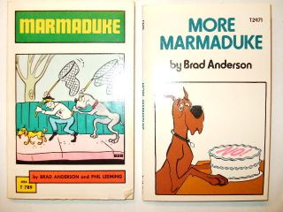 Marmaduke Comic Strip Books by Brad Anderson Paperback