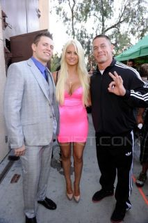 WWE DIVA MARYSE OUELLET NEON PINK DESIGNER DRESS WORN TO TEEN CHOICE