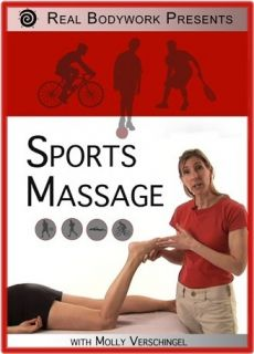 Sports Event Medical Massage Video on DVD 14 Page Booklet Included