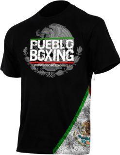 Mexico Flag Black T Shirt Cleto Reyes Grant Everlast Marquez