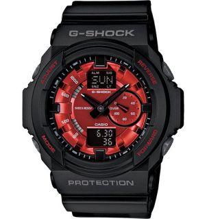 Shock Casio GA 150MF 1A GA150MF Metallic Red Mens Watch