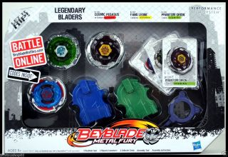 Hasbro Beyblade Metal Fury 3 Pack   PHANTOM ORION, FANG LEONE, COSMIC