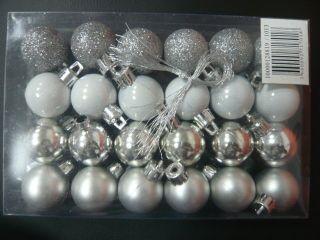 24pcs sequins bright Matt surface PS Christmas ball decoration