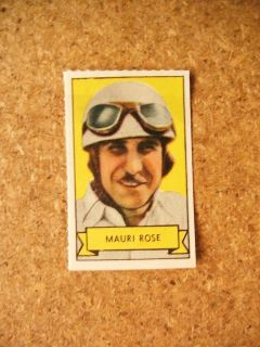Pep Cereal Sports Stamp Maury Rose Race Car Driver Jewish Indy 500
