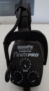 Barely Used Detectorpro Pirate Pro Metal Detector
