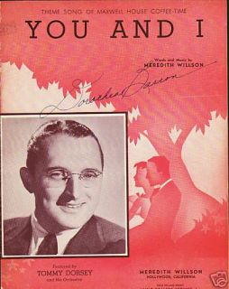 You I Tommy Dorsey Maxwell House Coffee Time 1941