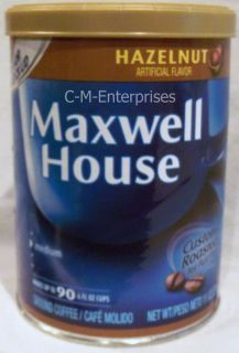 Maxwell House Hazelnut Coffee 11 Oz