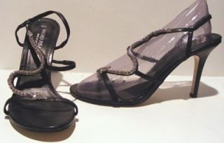 Mauro Pisani Womens Strappy Sandals Heels Shoes 8 5 M