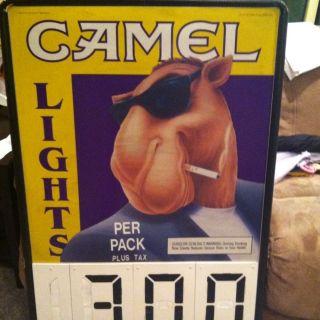 Camel Joe 1993 Advertising Pole Mount Sign