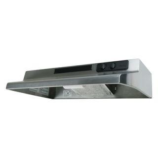 30 Stainless Steel Variable Speed Kitchen Range Hood