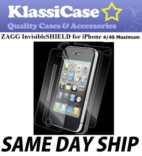 Full Body Clear Skin Protector Apple iPhone 4 4S Maximum