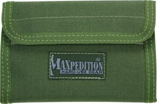 Maxpedition Bags Pack Spartan Wallet Pockets Green 229G