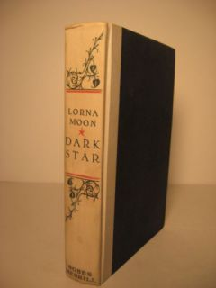 1929 Lorna Moons Dark Star Signed by Mary Pickford
