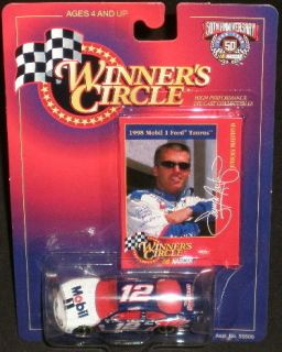 Jeremy Mayfield 12 1998 Winners Circle Mobil Ford Taurus 1 64 Diecast