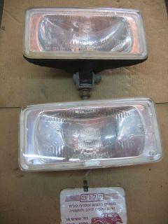 COMET 550 DRIVING LIGHTS HELLA No 301 135 154 2 Pcs Maserati Biturbo