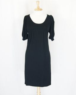 Max Studio Black Knit Stretch Dress Size s DT443RN