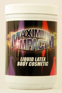 32oz Natural Liquid Latex from Maximum Impact