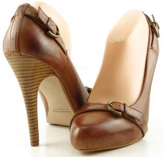 Maxstudio Madagascar Womens Designer Buckled Shoes Hidden Platform