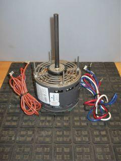 HP 3 Speed Fan Blower Motor Reversible Direct Drive 115V 1690