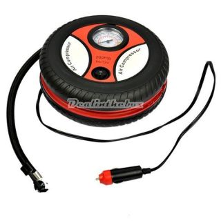Car Auto Portable Pump Tire Inflator Mini Air Compressor D0X8