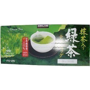Kirkland Signature Matcha Blend Green Tea 100 Bags 100 Japanese Leaves