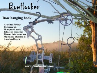 Archery Bow Hook Hunting Bow Hanger Treestand Bow Holder Mathews Bow